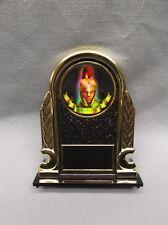 Trojan Award trophy black and gold decorative holder mascot