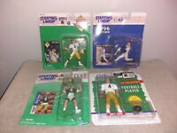 LOT BRETT FAVRE PACKERS STARTING LINEUP FIGURES PLUS PAUL O'NEIL