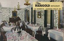 Marigold Restaurant Niagara Falls Postcard New York 1930s RPPC