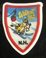 Wildcat Mountain NH Ski Resort STICKER / DECAL Made From Image Of Vintage Patch