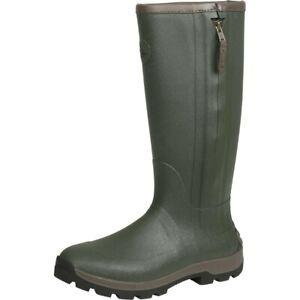 Seeland Noble Zip Wellington Boots Wellies - Dark Olive