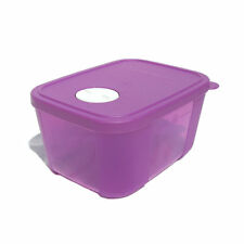 NEW Tupperware 1 x Freezer Mates Small Size 2 with Dial Seal 650 ml Purple