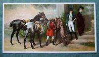 19th Century Antique Chromolithograph Print Knapp Co NY Paintings Lithograph Art
