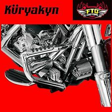 Kuryakyn Chrome Rear Master Cylinder Covers for 08-'17 Touring 8653