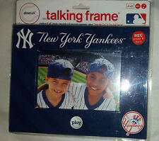 NEW YORK YANKEES TALKING PICTURE FRAME NEW  STILL IN PACKAGING AUTHENTIC MLB