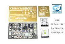Dreammodel 1/48 PE for F-14A  for TAMIYA CDM48027