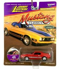 Johnny Lightning Classics 1973 73 Ford Mustang Mach I 1 Car Red Diecast 1/64 #48