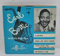 Vintage King Records Earl Bostic and His Alto Sax Volume 1 45 EP 4 Songs!