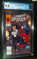 THE AMAZING SPIDER-MAN #330 1990 Marvel Comics CGC 9.8 NM/MT White Pages