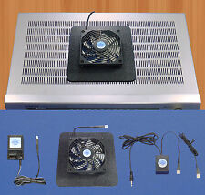 Mega-fan Receiver/Amp 12v trigger-controlled multi-speed cooling fan / Superbase