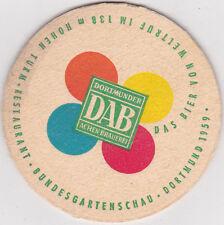 alter Bierdeckel   DAB Dortmund - Bundesgartenschau 1959