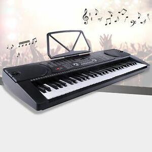 Uenjoy 61 Key Music Electronic Keyboard Electric Digital Piano Organ w/Power Sup