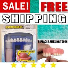 1 Denture Repair Kit Prime Glue Adhesive For Permanent Broken Acrylic Teeth Kits