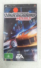 Need For Speed Underground Rivals Sony PSP Game