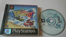 Box and game renegade racers playstation 1 ps1.psx. pal several languages.