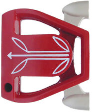 """New Left Handed 35"""" Twin Engine RED taylor fit spiders golf putter"""