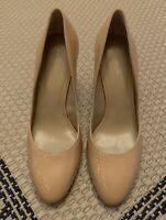 Ann Taylor Women's Nude Beige High Heels Pumps Shoes Size 8 1/2 M