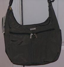 *SALE NOW* Baggallini CARGO Crossbody Shoulder Bagg Hobo Xbody Sling Bag SILVER
