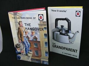 LADYBIRD BOOK OF THE HANGOVER & HOW GRANDPARETN WORKS PRE-OWNED GREAT CONDITION