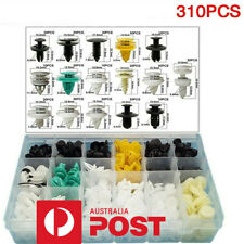 310* Mixed Fastener Car Auto Door Bumper Fender Liner Plastic Rivet Fixed Clips
