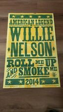 Willie Nelson Tour Poster 2014