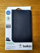 "Belkin Samsung Galaxy Tab 2 7"" Cinema Leather Folio Case Cover With Stand"