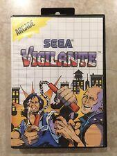 Vigilante ( Sega Master System  1988 ),Complete w/Case & Manual