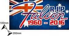 CUSTOM DIGITAL PRINT RIP FALCON STICKER/QUALITY OUTDOOR VINYL/ECO SOLVENT INK