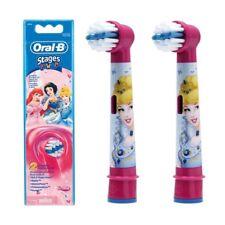 Braun Oral-B Niños Etapas Alimentación Disney Princesa Cepillo de dientes Cepillo Heads Paquete De 2