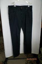 Robert Graham Size 38-34 Men's Jeans Classic Yates Blue Stretchy