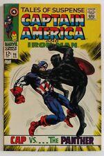 TALES OF SUSPENSE  #98 - MARVEL 1968 < 8.5 > IRON MAN, CAPT. AMERICA - B Panther