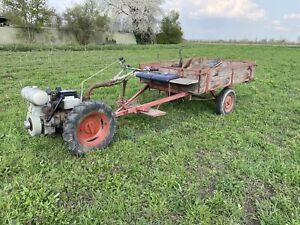 Irus U 600 Einachser Traktor Schlepper