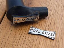 MOTO GUZZI Champion Spark Plug HT Cap Cover Self Adhesive BADGES 29mm Pair Bike