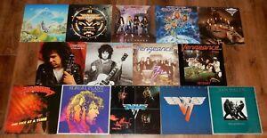 14x Vinyl: Gary Moore - Van Halen - Vengeance u.a. - guter Zustand