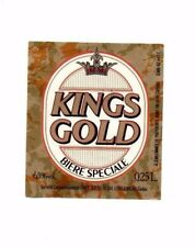 France - Beer Label - Kings Gold