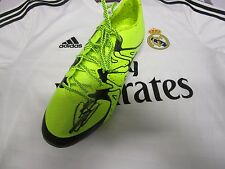 Gareth Bale (Real Madrid) signed Adidas X 15.1 Bale Boot (Yellow)