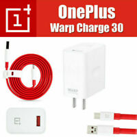 Original OnePlus Warp Fast Charge 20/30W Wall Charger Cable For Oneplus 7 Pro