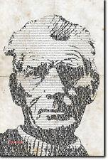 Samuel Beckett Affiche TYPOGRAPHIQUE ART UNIQUE CADEAU photo print