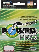 TRESSE POWER PRO ROUGE 275m-15Lb 19/100-7kg POWERPRO BRAID LINE RED