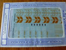 "Microscale Decal HO  #87-724 Govt. of Canada 4-bay Cyl. Hoppers - Large ""Canada"""