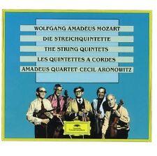 Mozart: I Quintetti Per Archi / Amadeus Quartet, Aronowitz - CD
