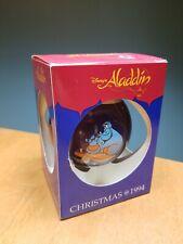 Schmid Walt Disney Christmas 1994 Aladdin Glass Ornament Ball Xmas Tree