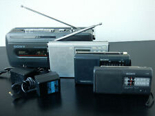SONY Portable (SW) Radio's (ICF-380 / ICF-SW15 / CFM-140 / ICF-SW7600GR)