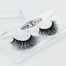 Handmade Soft Design 3D 100% Real Mink False Eyelashes Cross Messy Eye Lashes