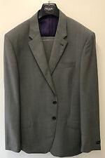 Paul Smith Travel Suit London Byard Mid Grey Tailored Fit Uk46r Eu56r