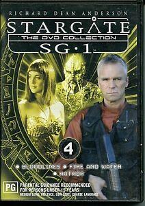 DVD - 'STARGATE The Collectors Edition SG.1 DVD 4'  (Region4)
