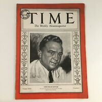 Time Magazine August 5 1935 Vol 26 #6 FBI First Director John Edgar Hoover