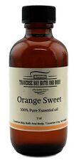 Sweet orange essential oil 4 oz, 100% Pure,Uncut. Soap making supplies- aromathe