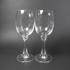 American Stemware SANIBEL Claret Wine Glasses Set of 2 Clear Crystal Glass