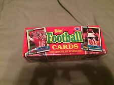 1990 Topps Football Cards Complete Factory Sealed Set (528 Cards)